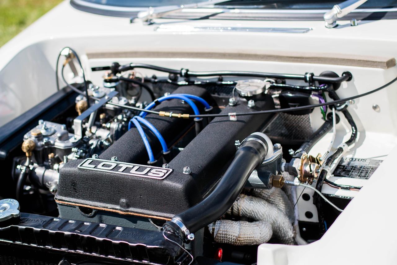 Motorrummet – utseende och inventarier